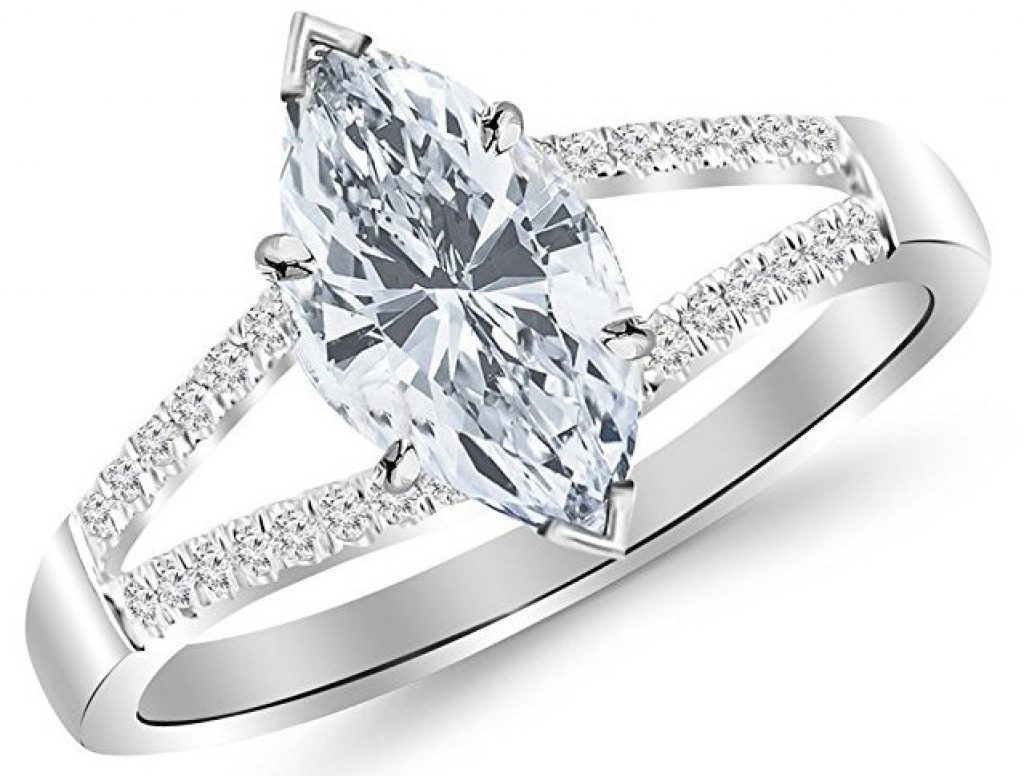 diamond shape marquise